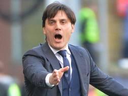 Vincenzo Montella, attuale allenatore della Sampdoria. ANSA