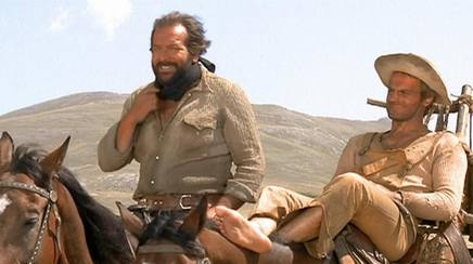 Bud Spencer con Terence Hill in