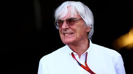 Bernie Ecclestone, 85 anni, boss della Formula1. Afp