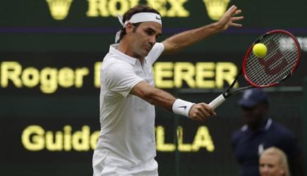 Roger Federer, 34 anni. Afp