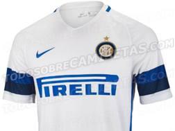 L'anticipazione sulla nuova maglia dell'Inter pubblicata da Todosobrecamisetas