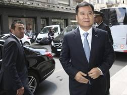 Zhang Jindong a Milano. Ap
