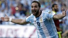Il centravanti argentino Gonzalo Higuain. LaPresse