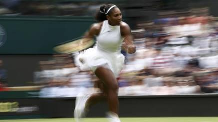 Serena Williams, campionessa uscente. Reuters