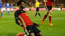 L'attaccante belga Michy Batshuayi, 22 anni. Epa