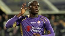 Khouma Babacar, attaccante della Fiorentina