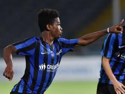 Diallo Amad Traore, 14 anni il prossimo 11 luglio, autore del gol che ha sbloccato la finale scudetto. Getty Images