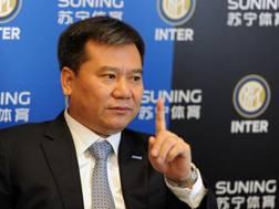 Zhang Jindong, presidente di Suning. Getty