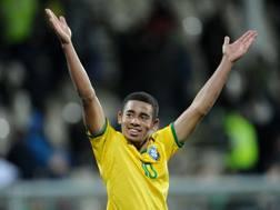 Gabriel Jesus, 19 anni, attaccante brasiliano del Palmeiras. Ap