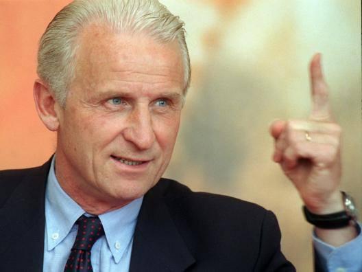 Giovanni Trapattoni, 77 anni. Ansa