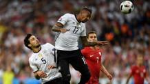 Hummels e Boateng, qui contro la Polonia. Afp