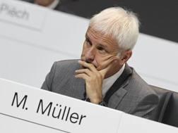 Matthias Müller, amministratore delegato del Gruppo Volkswagen. Afp
