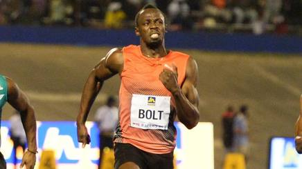 Usain Bolt. Ap