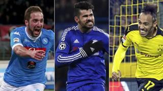 Gonzalo Higuain, Diego Costa e Pierre-Emerick Aubameyang. Marca.com
