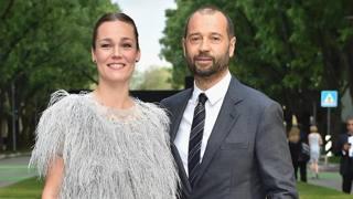 Fabio Volo con la compagna Johanna Maggy Hauksdottir. Getty Images