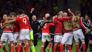 Galles-Belgio: il film della gara
