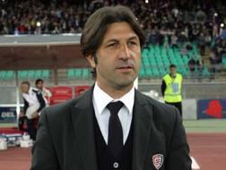Il tecnico del Cagliari Massimo Rastelli. LaPresse