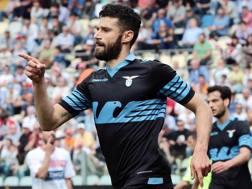 Antonio Candreva, 29 anni, centrocampista della Lazio. Ansa