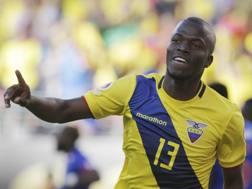 Enner Valencia, 26 anni, attaccante ecuadoregno del West Ham. Ap