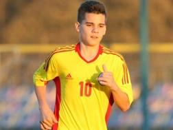 Ianis Hagi, 18 anni, centrocampista romeno