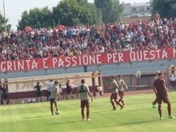 Il Torino in campo al centro Sisport. Toronews.net