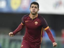 Iago Falque Silva, 26 anni, attaccante spagnolo della Roma. Reuters