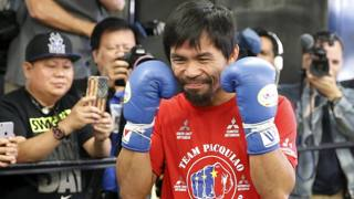 Manny Pacquiao REUTERS