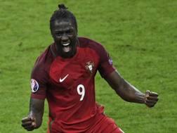 Eder, 28 anni, attaccante del Portogallo. Afp