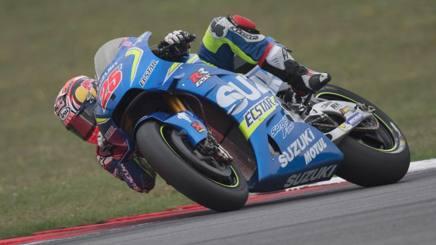 Maverick Vinales, un podio stagionale con la Suzuki. Getty