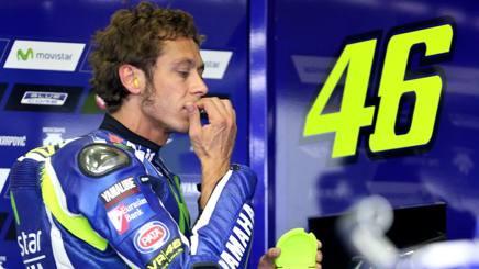 Valentino Rossi, 37 anni, nove titoli mondiali. Ap