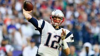 Tom Brady, 39 anni il prossimo 7 agosto, quarterback dei New England Patriots AFP