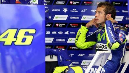 Valentino Rossi, 37 anni, nove titoli mondiali. Epa