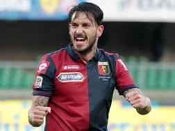 Mauricio Ricardo Pinilla Ferrera, 32 anni, attaccante cileno dell'Atalanta. LaPresse
