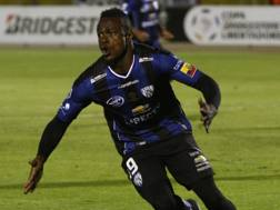Jos� Enrique Angulo Caicedo , 21 anni, attaccante ecuadoregno dell'Independiente del Valle. Afp