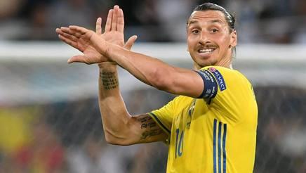 Zlatan Ibrahimović, 34 anni. Ansa