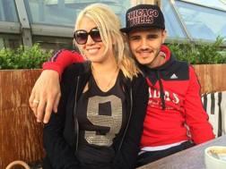 Wanda Nara con Mauro Icardi, 23 anni