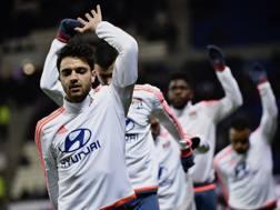 Cl�ment Grenier, 25 anni, centrocampista francese del Lione. Afp