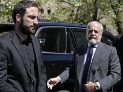 Gonzalo Higuain e Aurelio De Laurentiis. LaPresse