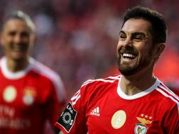 Jardel Nivaldo Vieira, 30 anni, difensore brasiliano del Benfica. Afp