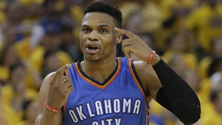 Russell Westbrook, 27 anni, ai Thunder dal 2008. Ap