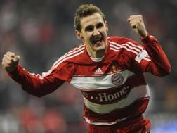 Miroslav Josef Klose, 38 anni, con la maglia del Bayern Monaco: pu� tornare in Baviera.,Ap