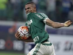 Gabriel Jesus, 19 anni, attaccante brasiliano del Palmeiras. Epa