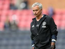 Il tecnico del Manchester United, Jos� Mourinho. LaPresse