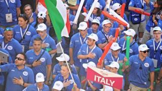 I campioni con sindrome di Down ai Trisome Games di Firenze
