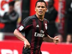 L'attaccante colombiano Carlos Bacca, 29 anni. Forte