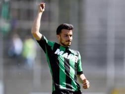 Nicola Sansone, attaccante del Sassuolo. Ansa