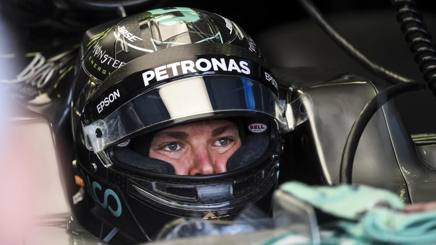 Nivo Rosberg, 29 anni, durante le Libere2 sul circuito dell'Hungaroring. Ap