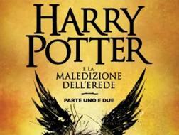 La copertina dell'ottava storia di Harry Potter