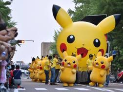 Una parata a Yokohama, Afp