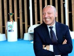 L'a.d. della Juventus Beppe Marotta. Ansa